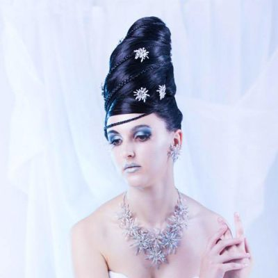 vlasove studio jana damsky uces modelka bila